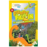 National Geographic National Geographic Kids Funny Fill-In My Dinosaur Adventure