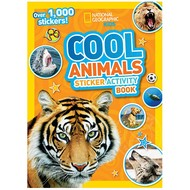 National Geographic National Geographic Kids Cool Animals Sticker Activity Book