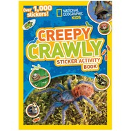 Random House National Geographic Kids Creepy Crawly Sticker Activity Book