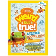 Random House National Geographic Kids Weird but True! Sticker Doodle Book