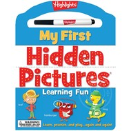 Highlights My First Hidden Pictures Learning Fun Dry Erase Activity Book