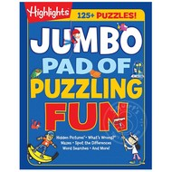 Penguin Highlights Jumbo Pad of Puzzling Fun