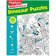 Penguin Highlights Hidden Pictures Dinosaur Puzzles
