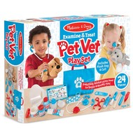Melissa & Doug Melissa & Doug Examine & Treat Pet Vet Play Set