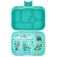 Yumbox YumBox Original 6 Compartment - Surf Green w/ Kite Tray