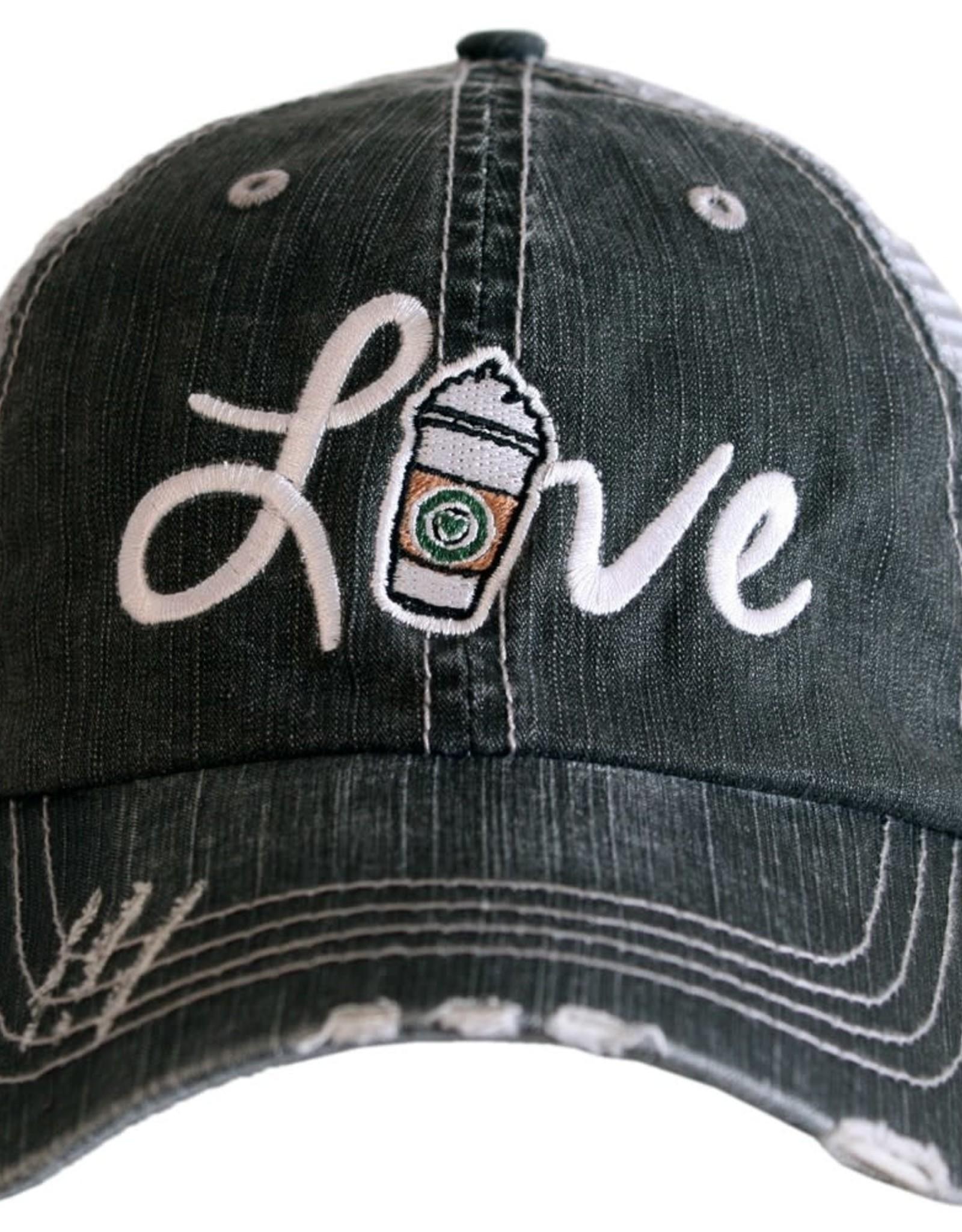 TLC LOVE STARBUCKS TRUCKER HAT