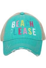 TLC BEACH PLEASE TRUCKER HAT