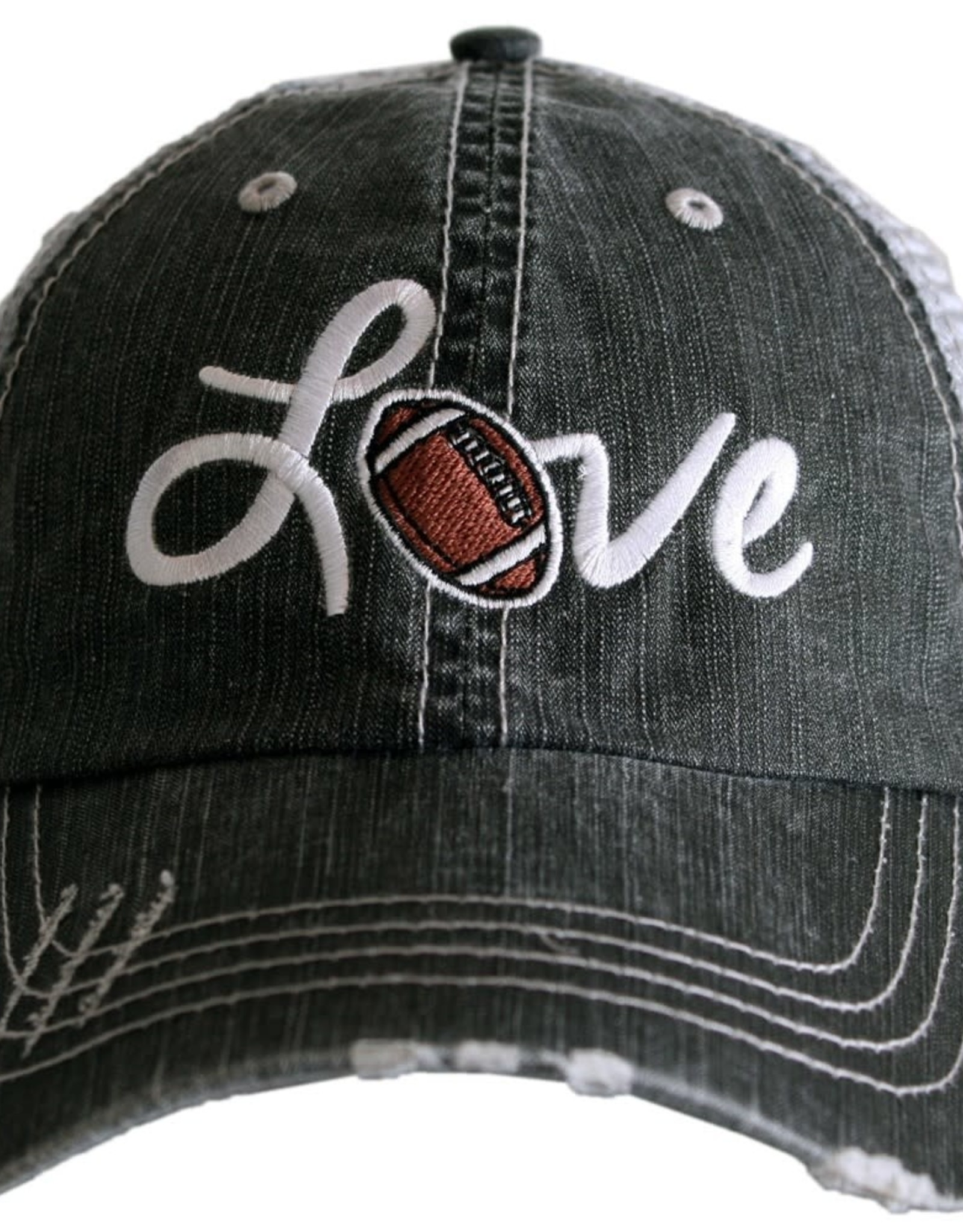TLC LOVE FOOTBALL TRUCKER HAT