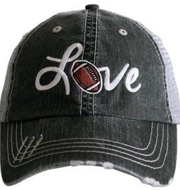 TLC LOVE FOOTBALL TRUCKER HAT