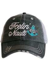 TLC FEELING NAUTI TRUCKER HAT