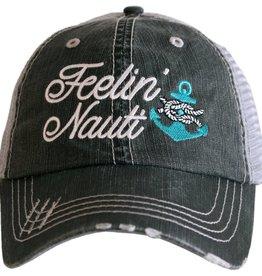TLC FEELING NAUTI TRUCKER HAT