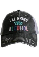 TLC ILL BRING ALCOHOL TRUCKER HAT