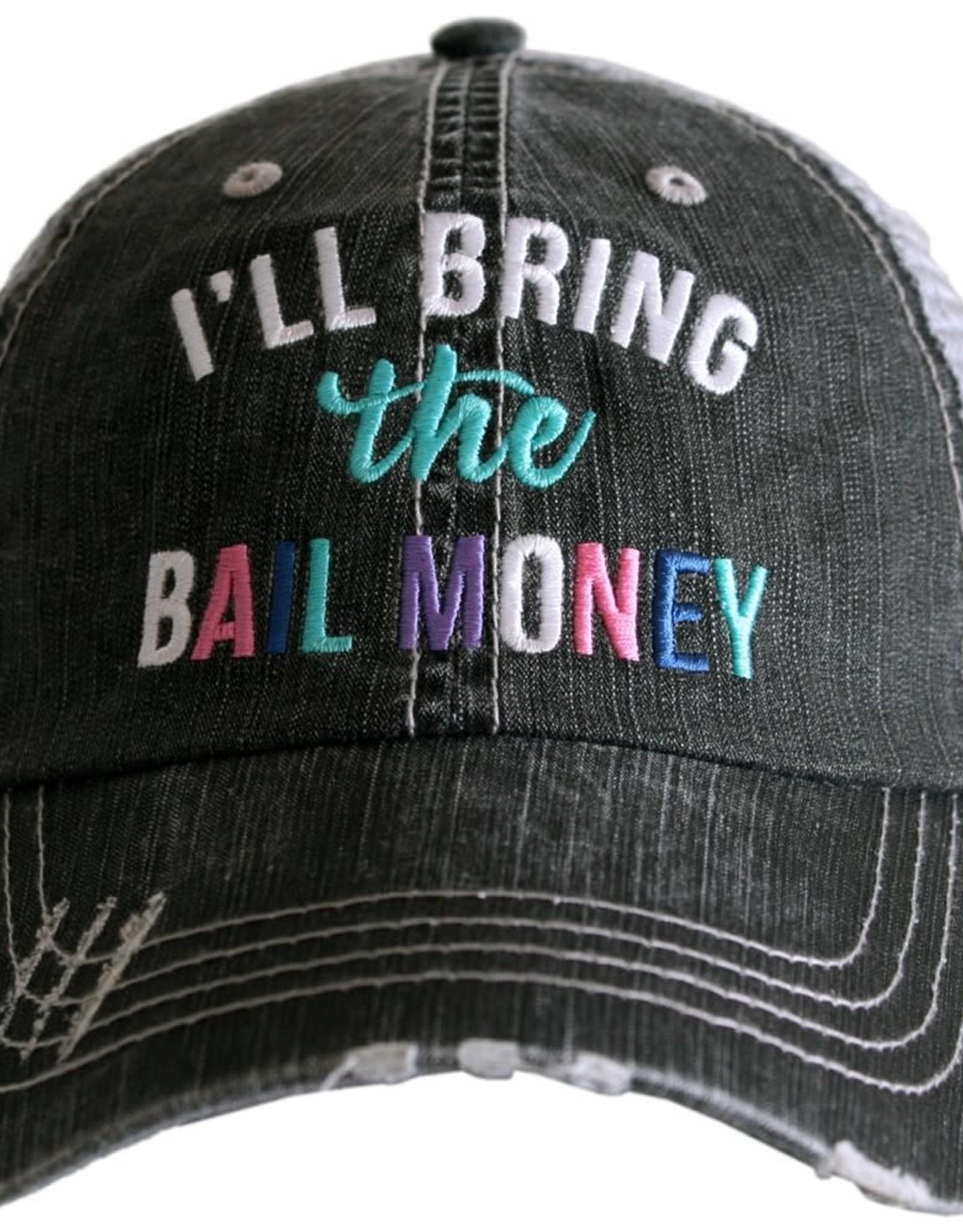 TLC ILL BRING BAIL MONEY TRUCKER HAT