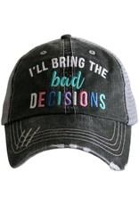 TLC ILL BRING BAD DECISIONS TRUCKER HAT