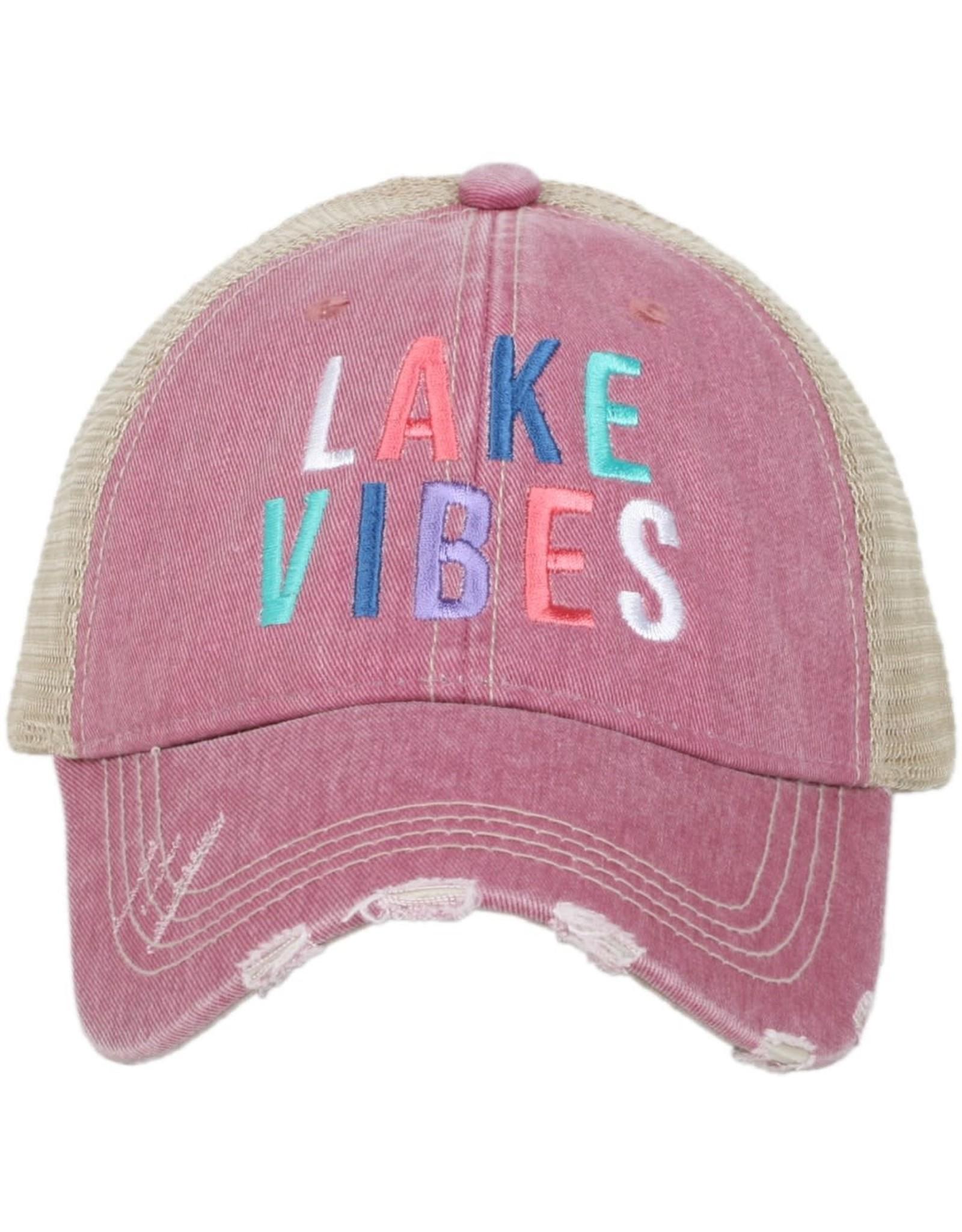 TLC LAKE VIBES  TRUCKER HAT