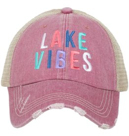 TLC LAKE VIBES  TRUCKER HAT