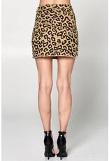 TLC LEOPARD SKIRT