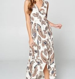 TLC PAISLEY MAXI DRESS