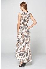 TLC PAISLEY MAXI DRESS