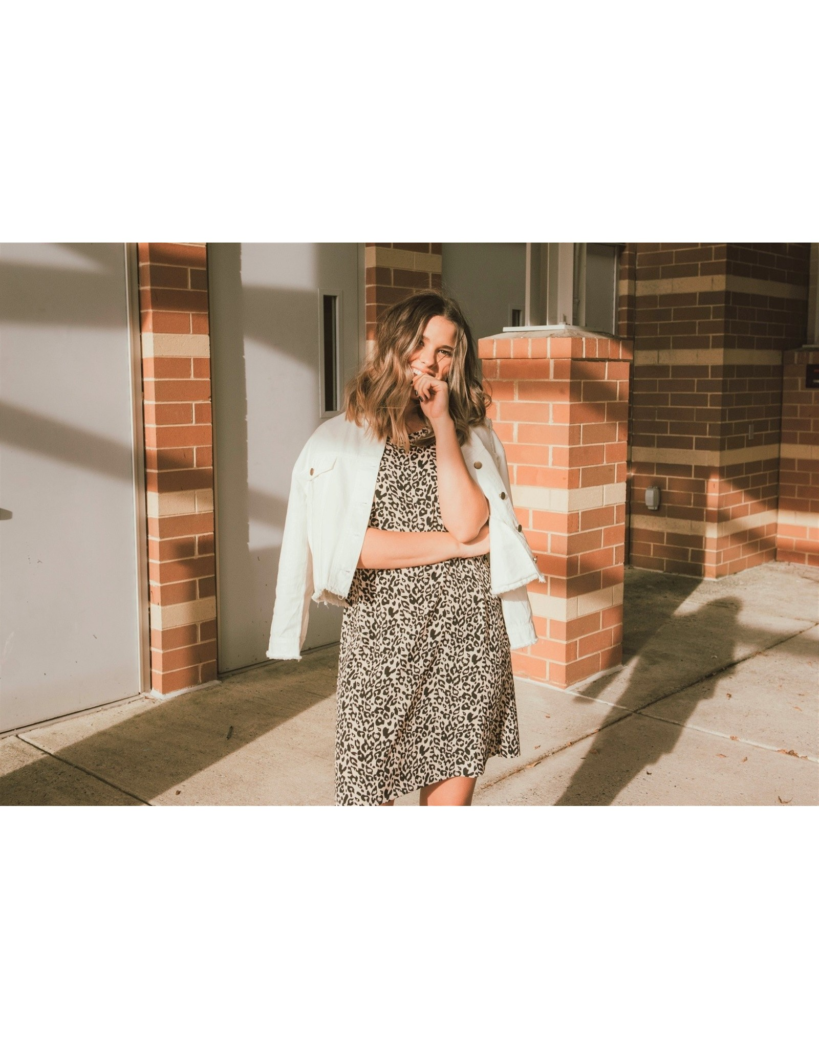 TLC LEOPARD DRESS