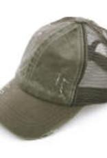 TLC CC PONYTAIL HAT