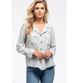 TLC BUTTON DOWN TOP