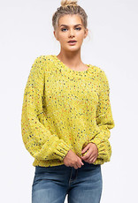 TLC CONFETTI POPCORN SWEATER