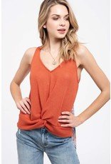 TLC TWIST FRONT TIE BACK TOP