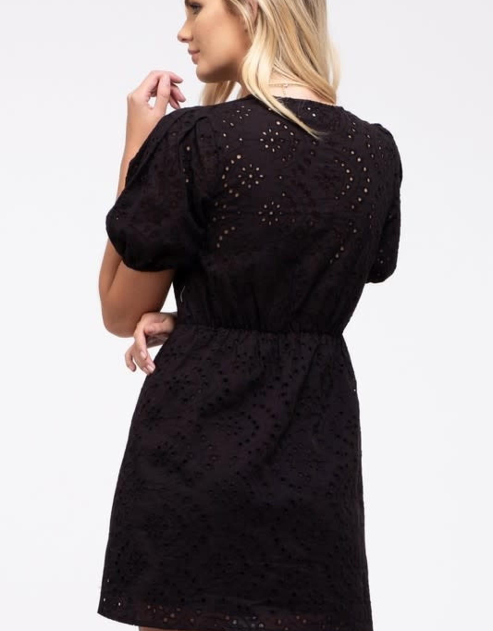 TLC EYELET DRESS