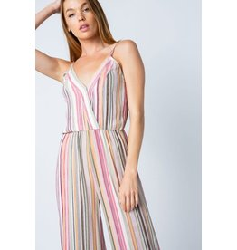 TLC STRIPE JUMPSUIT