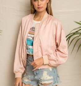 TLC CROP BOMBER JACKET