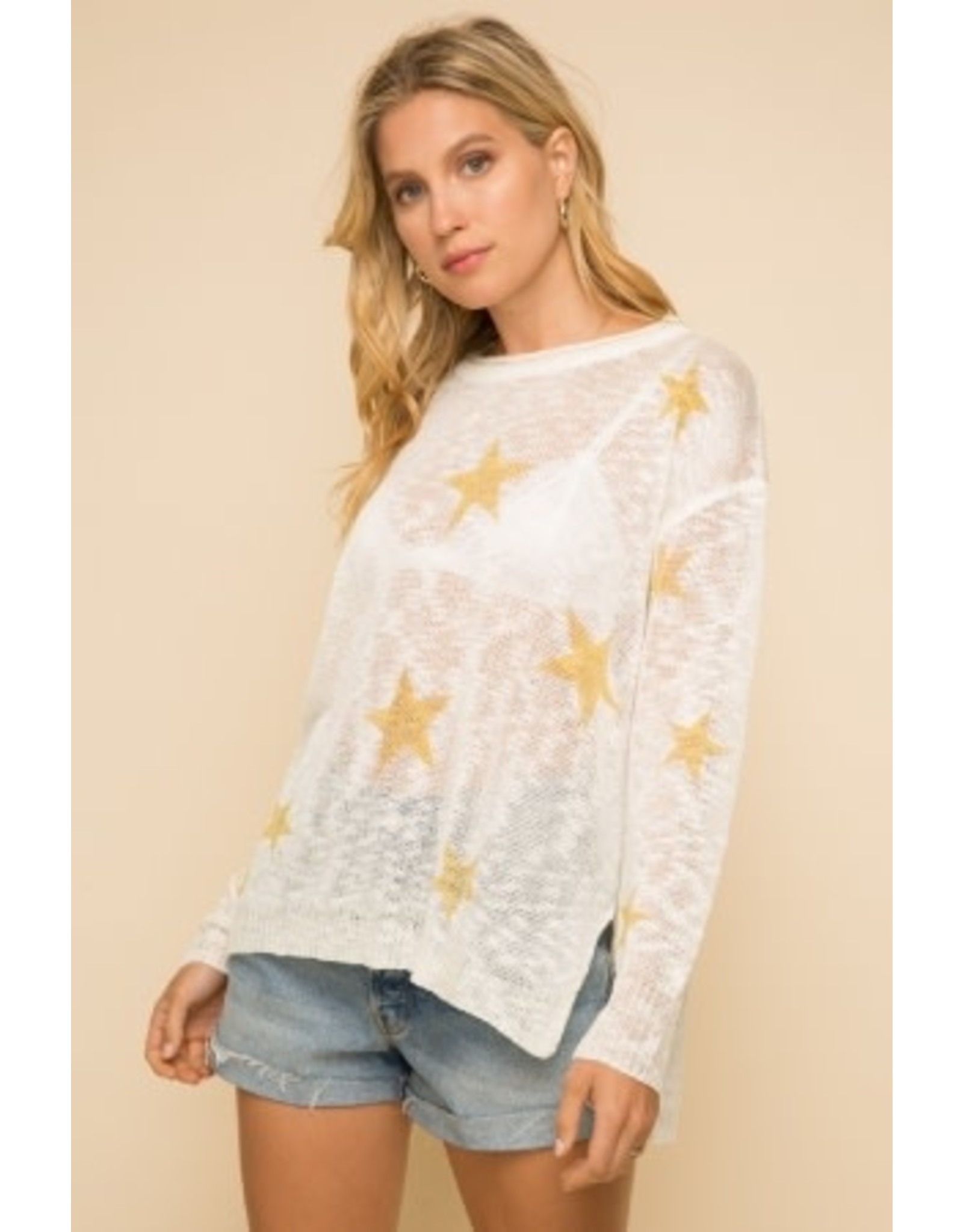 TLC STAR SWEATER