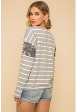 TLC STRIPE TOP