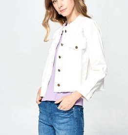 TLC FRAYED DENIM JACKET