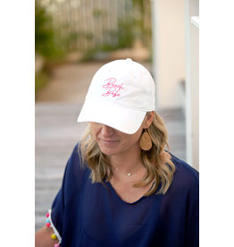 TLC Beach Babe White Cap