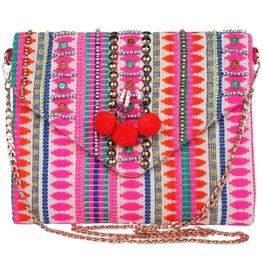 TLC Pink Handmade Clutch Purse