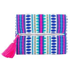 TLC Blue Make up Bag or Clutch