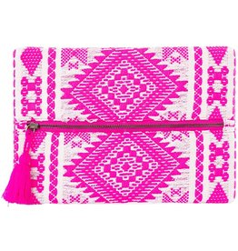TLC Pink Make up Bag or Clutch