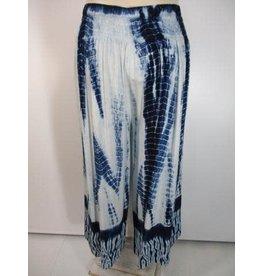 TLC Janis Tie Dye Overlap Front Pant