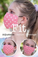 TLC Black Face Mask With Filter Slot - Includes 1 Filter