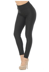 TLC Scrunch Butt Textured High Waisted Leggings