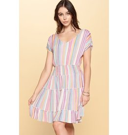 TLC Stripe Dress