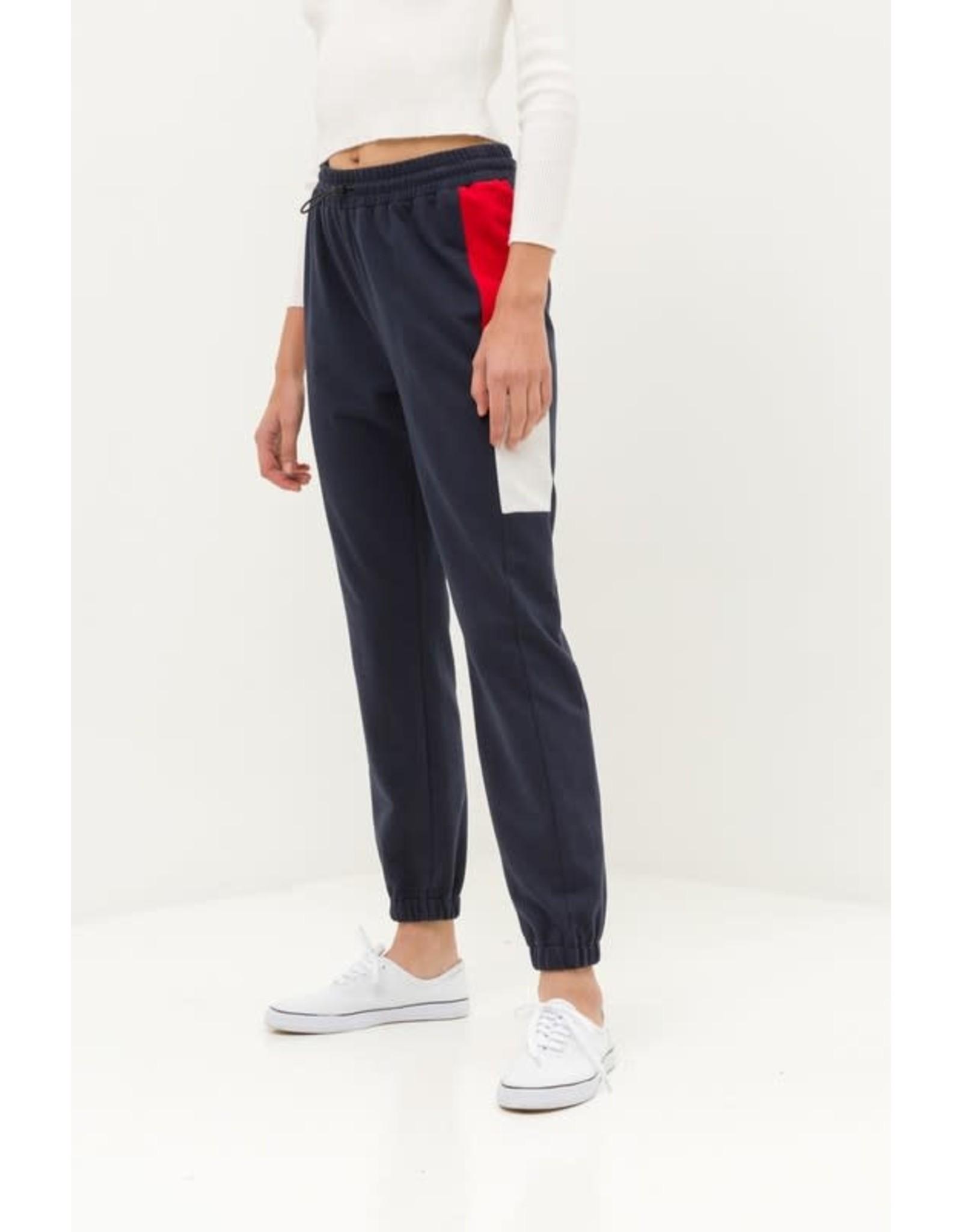 TLC Color Block Jogger Pants