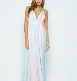 TLC Rainbow Maxi Dress