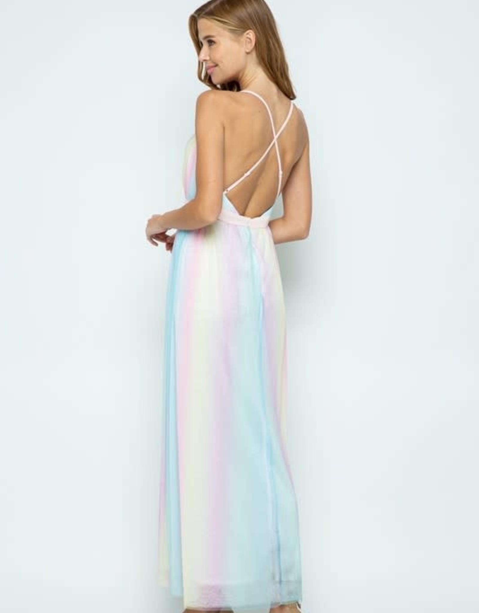 TLC Rainbow Maxi Dress