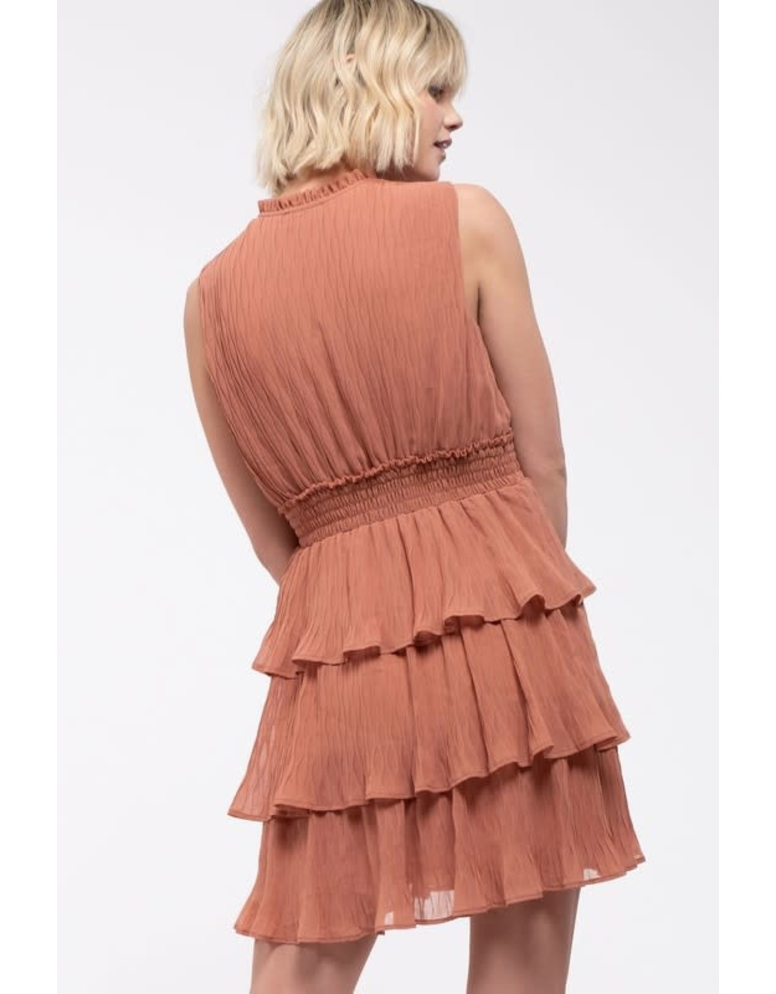 TLC Ruffle Tiered Dress