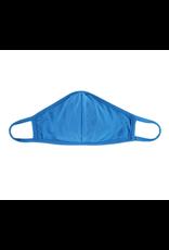 TLC blue cotton face mask