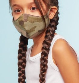 TLC kids cotton camo face mask