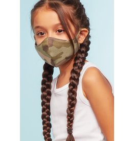 TLC kids cotton camo face mask