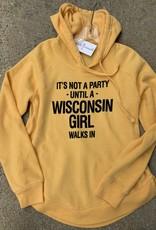 Wisconsin Party Girl Sweatshirt